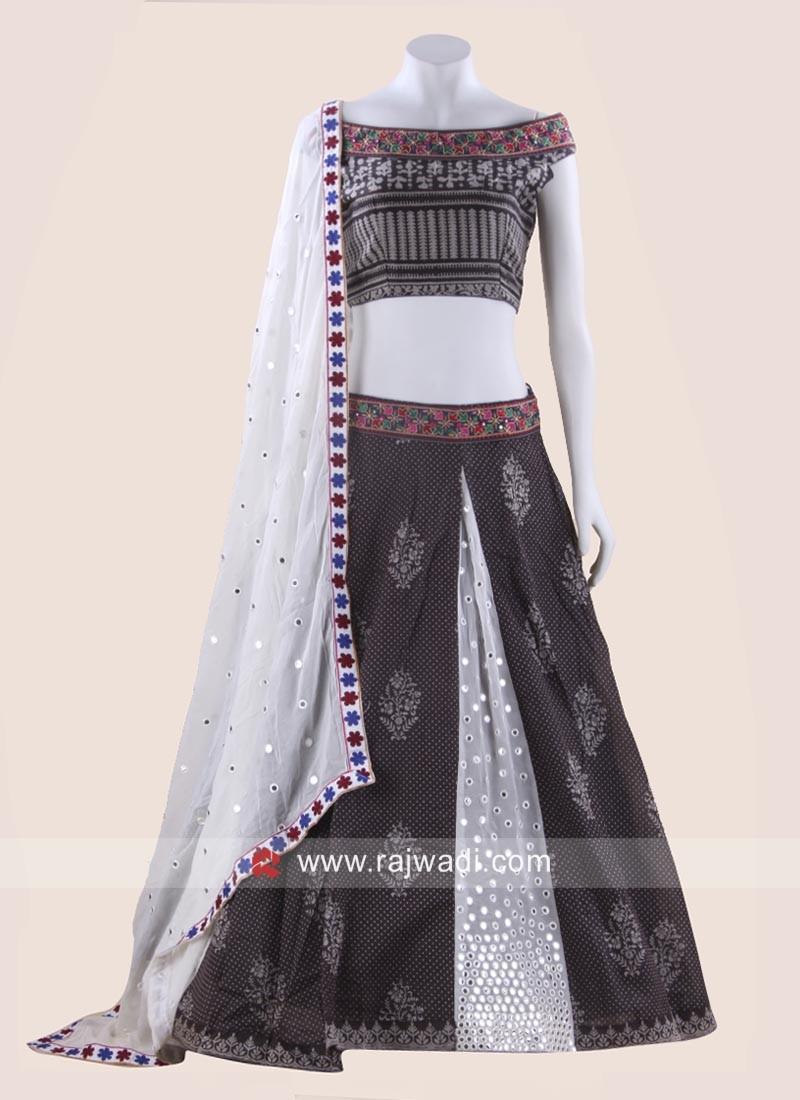 Cotton Kutchi Work Chaniya Choli
