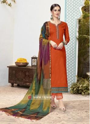Cotton Party Wear Salwar Suit