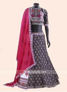 Cotton Printed Chaniya Choli for Garba
