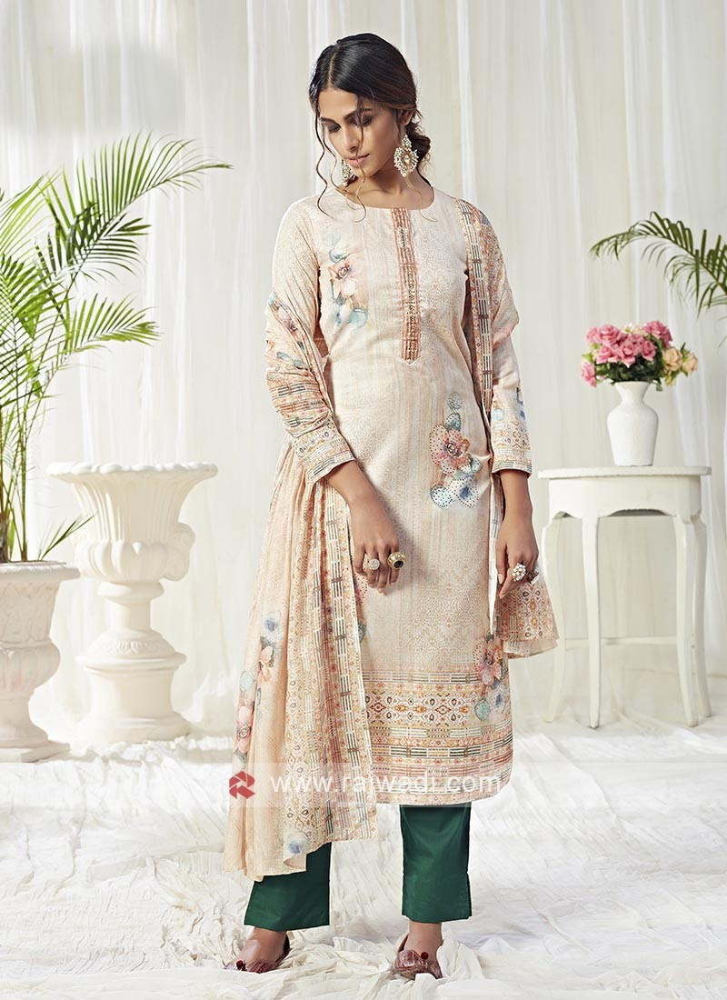 Cotton Printed Dress Material