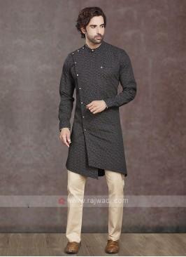 Stylish Cotton Printed Kurta Pajama