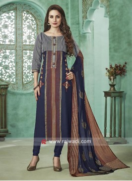 Cotton Rayon Designer Salwar Suit