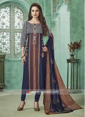Cotton Rayon Designer Salwar Suit