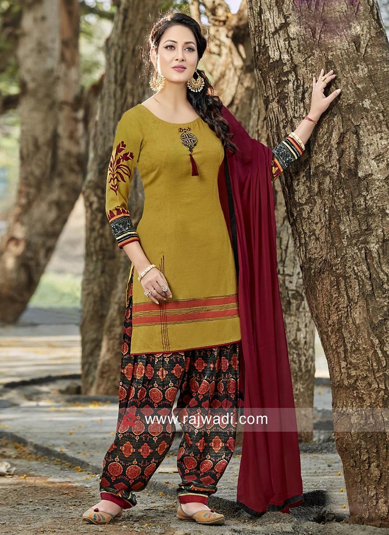 Cotton Rayon Readymade Salwar Kameez