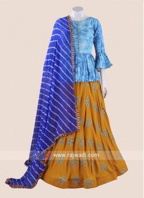 Cotton Silk Chaniya Choli for Navratri