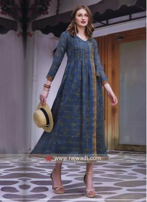 Cotton Silk Designer Kurti