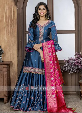 Cotton Silk Designer Lehenga Salwar Suit
