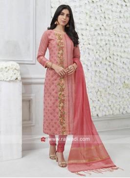 Cotton Silk Designer Salwar Kameez