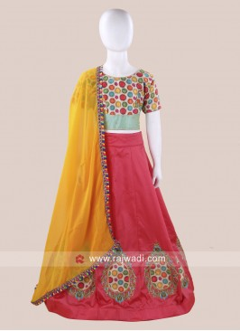 Cotton Silk Embroidered Chaniya Choli
