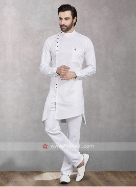 Cotton Silk Fabric Kurta Pajama For Mens