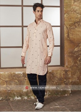Cotton Silk Fabric Kurta Set
