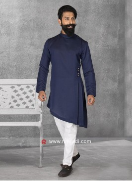 Satin Fabric Pathani Suit