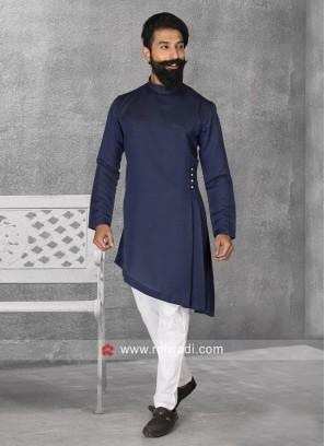 Satin Fabric Pathani Suit