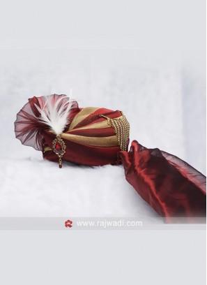Cotton Silk Fabric Turban