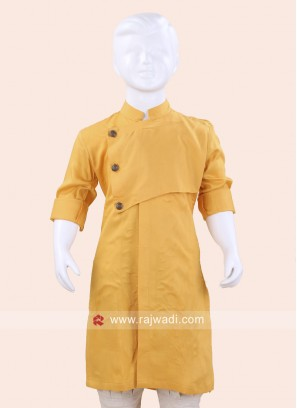 Cotton Silk Kurta for Boys