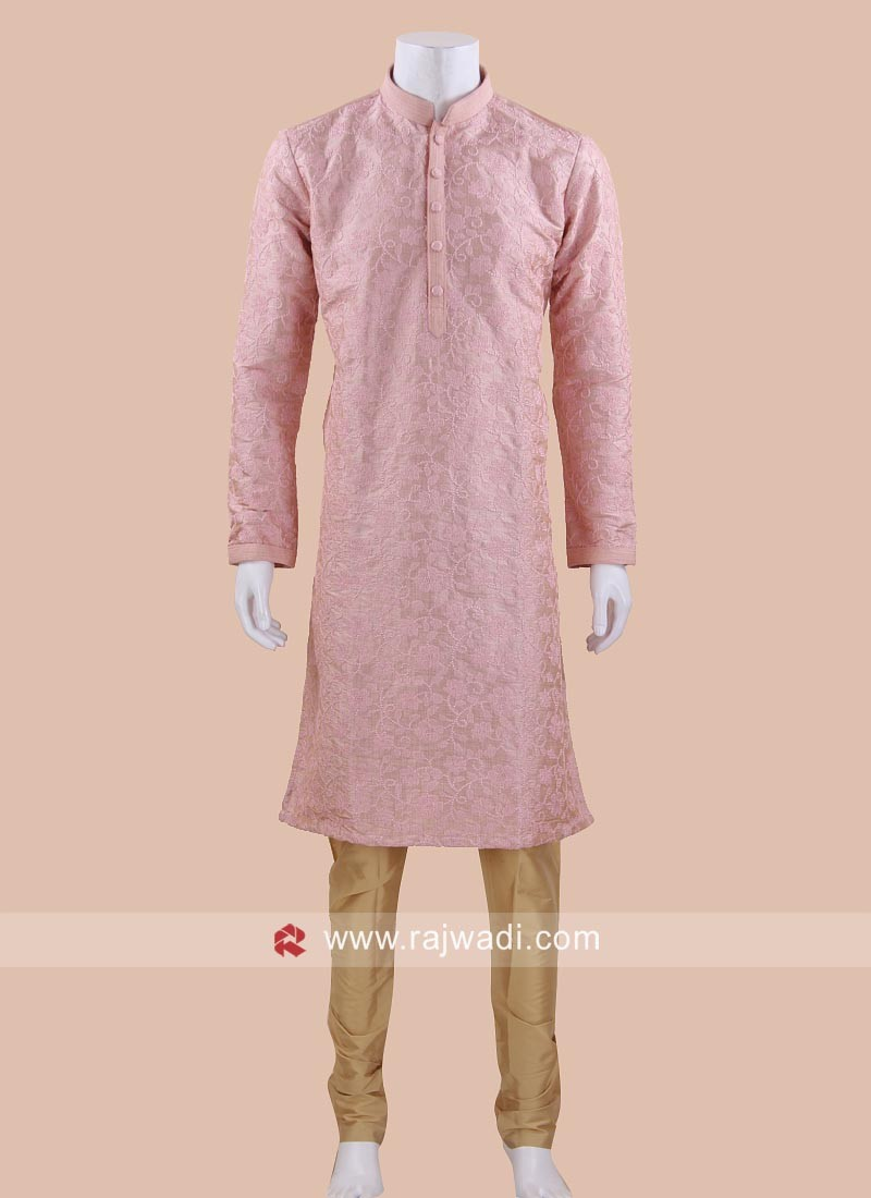 Cotton Silk Kurta Pajama for Festival
