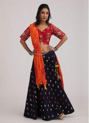 Cotton Silk Navratri Chaniya Choli