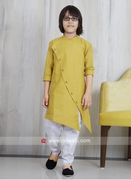 Linen Pathani Suit For Boys