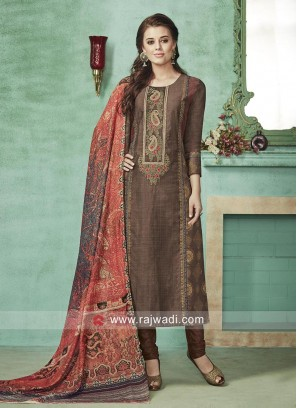 Cotton Silk Readymade Salwar Suit