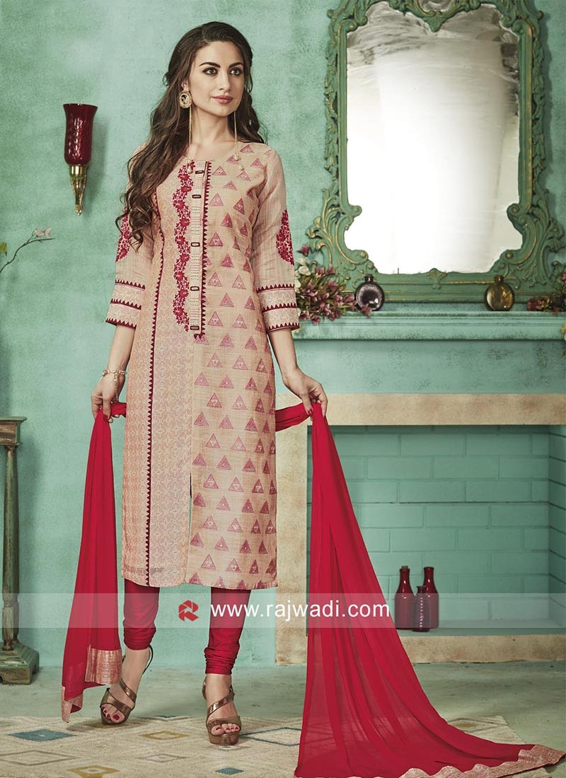 Cotton Silk Salwar Kameez