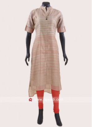 Cotton silk Short Long Kurti