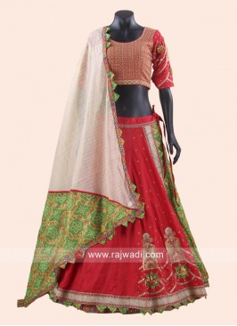 Cotton Silk Traditional Chaniya Choli