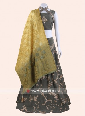 Cotton Silk Traditional Lehenga Choli