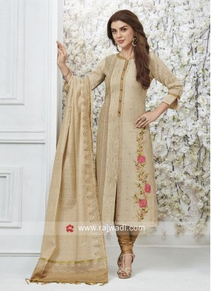 Cotton silk Wedding Salwar Suit