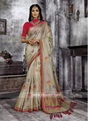 Cotton Silk Wedding Saree