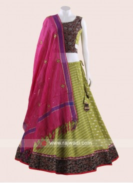 Cotton Stitched Chaniya Choli for Garba