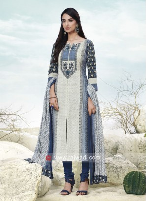 Cotton Stitched Salwar Kameez
