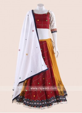 Cotton Traditional Chaniya Choli for Navratri