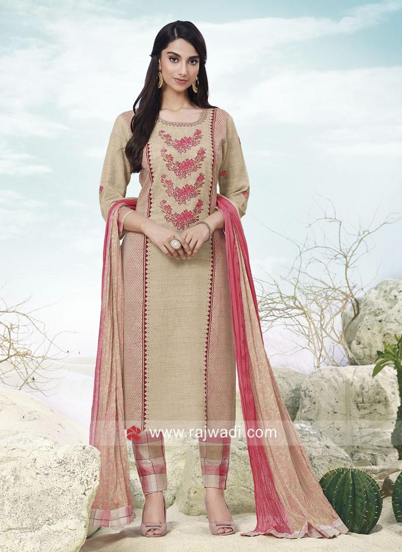Cotton Trouser Salwar Kameez