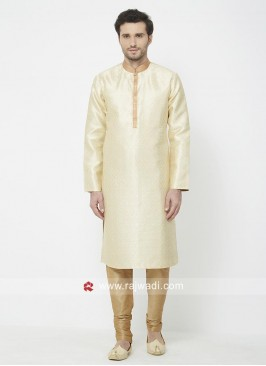 Cream Color Kurta Pajama