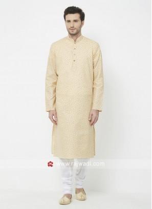 Cream Color Kurta Pajama