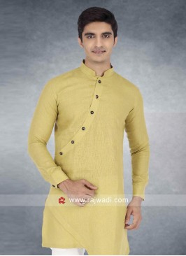 Khaki Color Kurta For Wedding