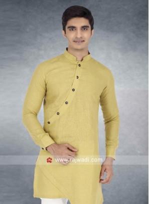 Khaki Color Kurta For Wedding