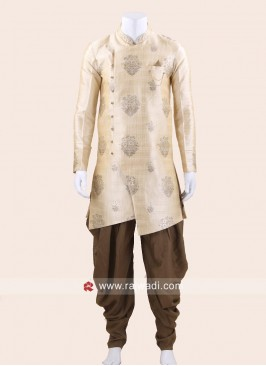 Cream Color Patiala Suit