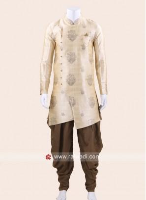 Cream Color Patiala Suit