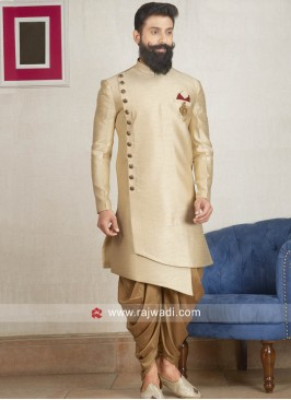 Cream Patiala Suit For Wedding