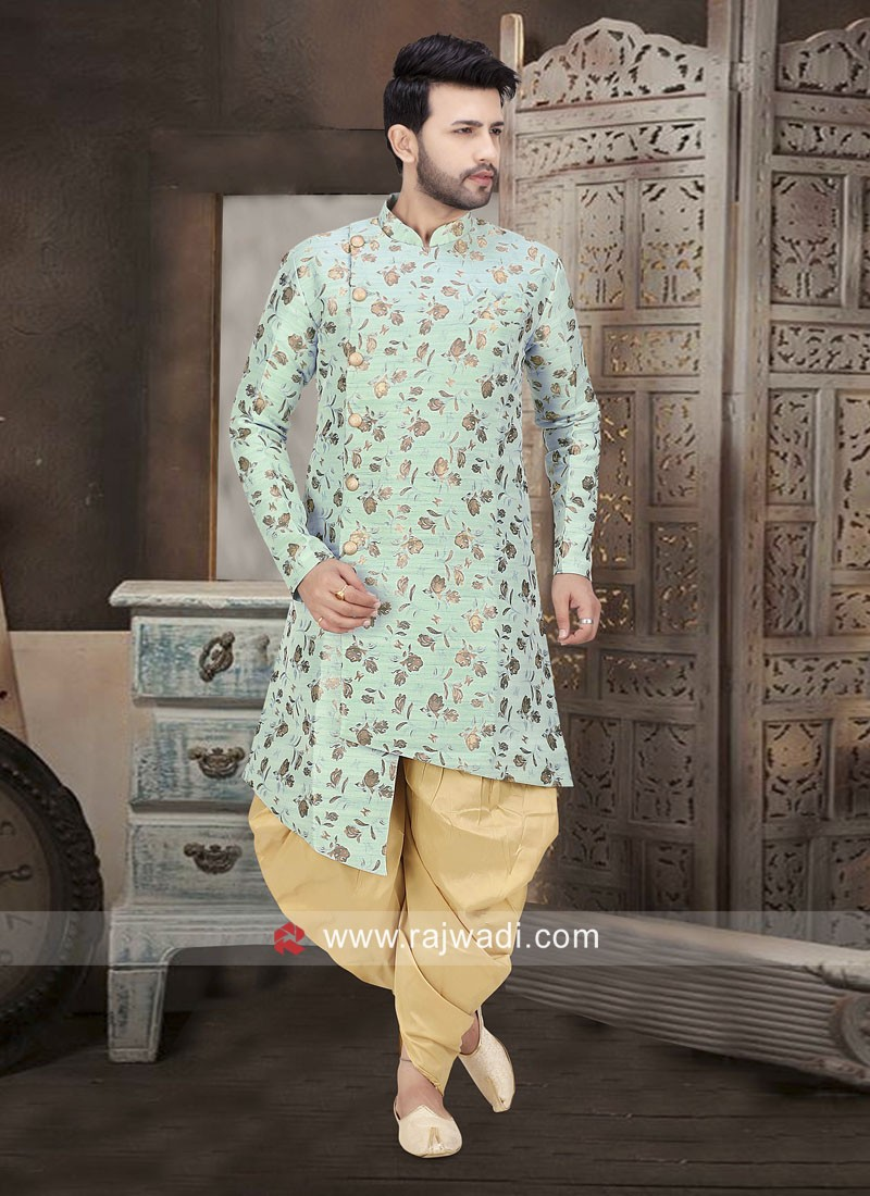 Sky Blue Patiala Suit For Wedding