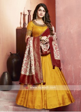 Crepe Silk Floor Length Anarkali Suit