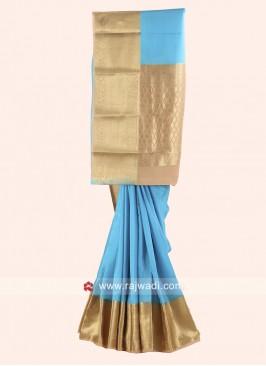 Crepe Silk Woven Saree