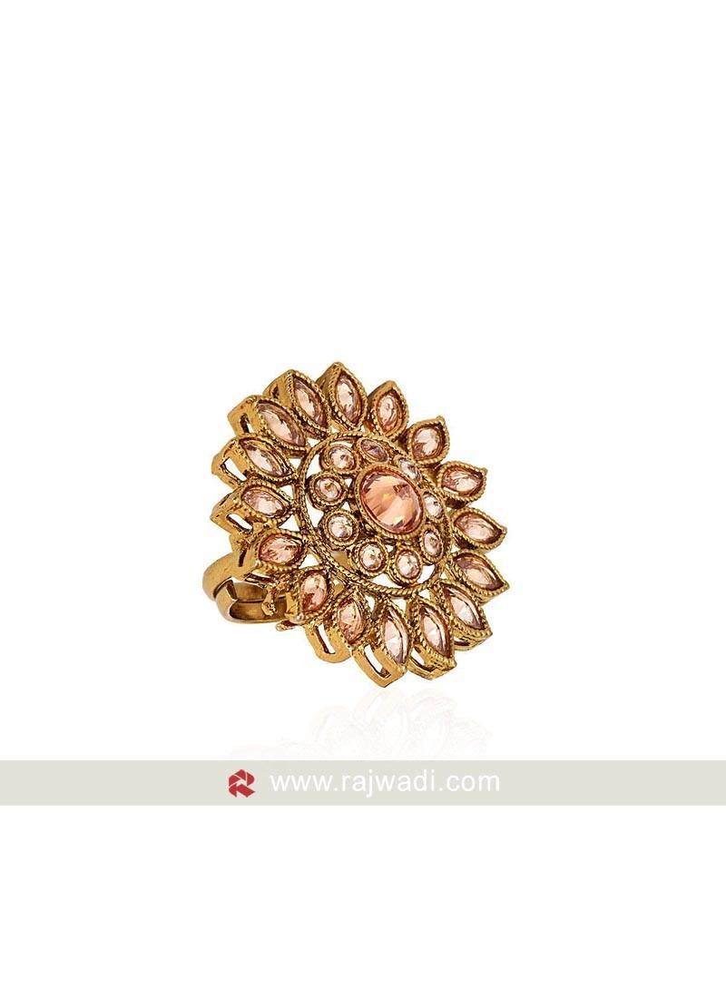 Cubic Zirconia Designer Ring