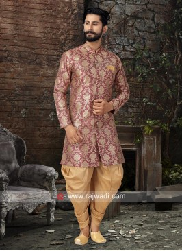 Stand Neck Patiala Suit For Wedding