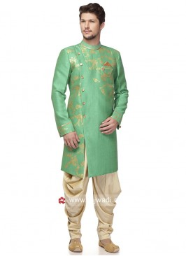 Designer Sea Green Patiala Suit