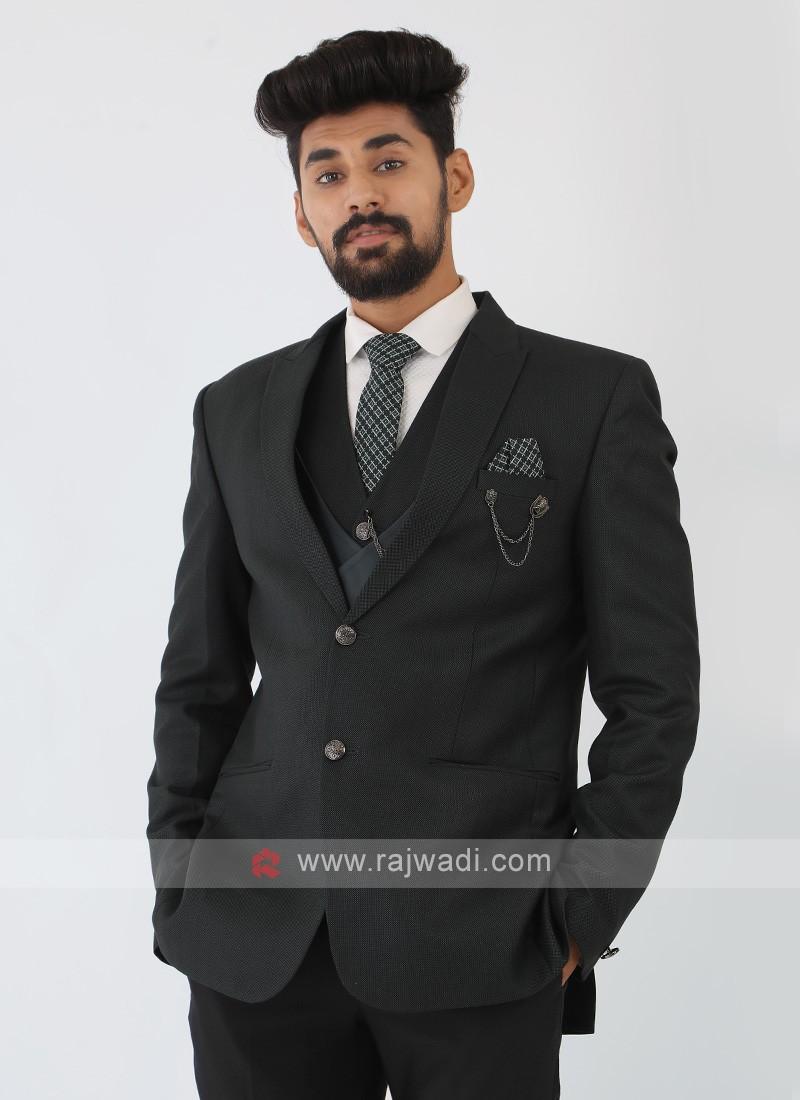 Dark Green Imported Suit
