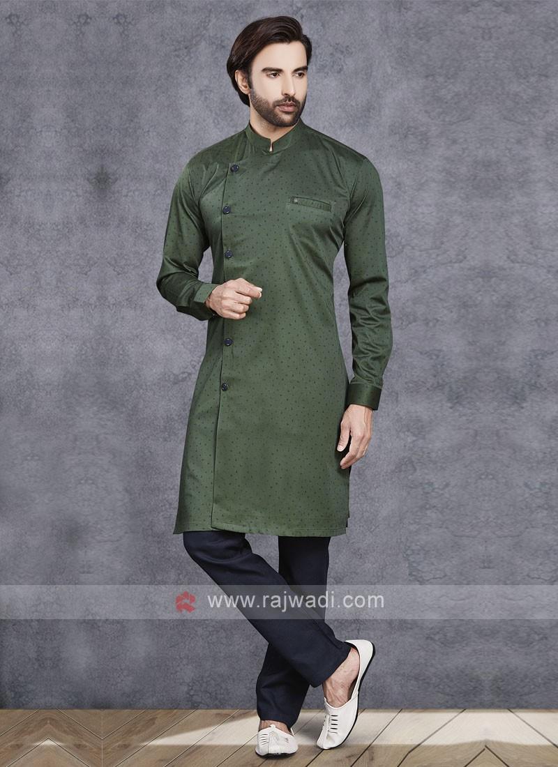 Dark Green Kurta Pajama