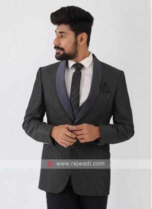 Dark Grey Color Suit