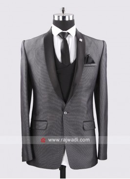 Dark Grey Color Suit